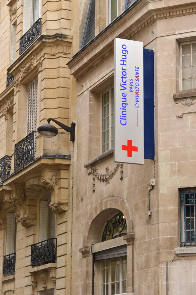 Victor Hugo Private Clinic, Vivalto Santé Group, 5 October 2015, Paris